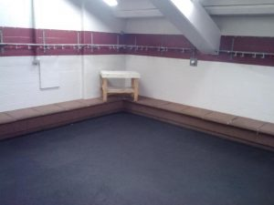 lockerroom empty